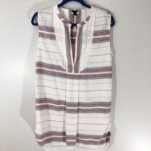 J. Crew Linen Blend Mini Dress